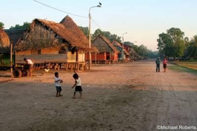 Shipibo village, Paococha