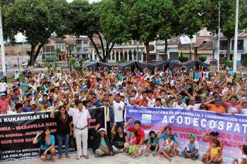 ACODECOSPAT mobilization - Photo Credit: PUINAMUDT