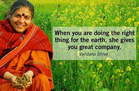 Vandana Shiva doing-the-right-thing